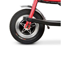 колесо переднее Электротрицикла Osota Adjutant Red