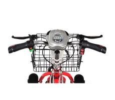 руль  Электротрицикла Osota Adjutant Red