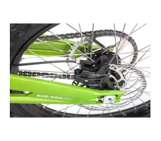 Фото тормозов заднего колеса электробайка SUR-RON X Green