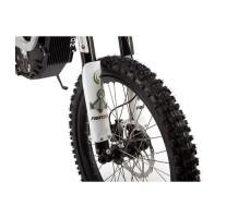 Фото переднего колеса электробайка SUR-RON X White
