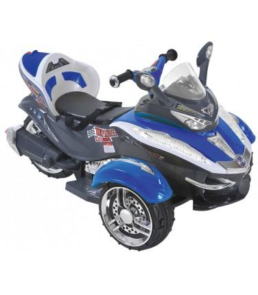 Электротрицикл С001СР Blue | Купить, цена, отзывы