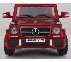 Электромобиль Mercedes-Benz G-65 Red