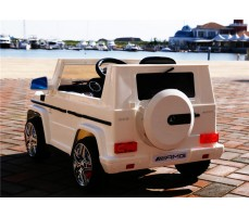 Электромобиль Mercedes-Benz G-65 White
