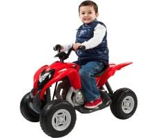Электроквадроцикл W420 Red с ребёнком