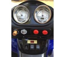 Фото приборной панели электроквадроцикла Е005КХ Blue
