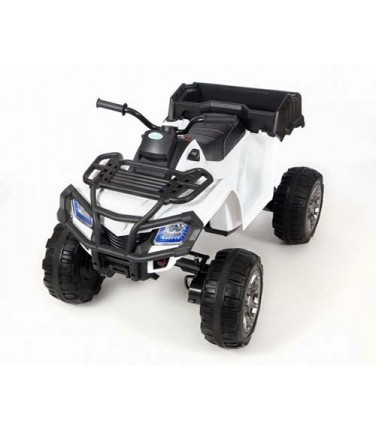 Электроквадроцикл Grizzly Next BARTY Т009МР White | Купить, цена, отзывы