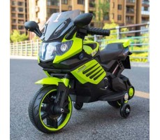 фото Детский электромотоцикл TOYLAND Minimoto LQ 158 Green