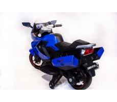 фото Детский электромотоцикл TOYLAND Moto XMX 316 Blue