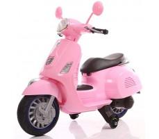 Детский электроскутер TOYLAND Vespa XMX 318 Pink