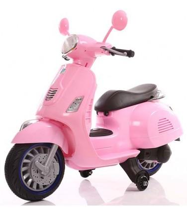 Детский электроскутер TOYLAND Vespa XMX 318 Pink | Купить, цена, отзывы