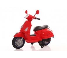 Детский электроскутер TOYLAND Vespa XMX 318 Red