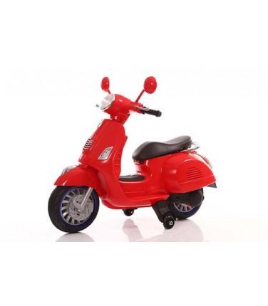 Детский электроскутер TOYLAND Vespa XMX 318 Red | Купить, цена, отзывы
