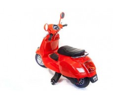 фото Детский электроскутер TOYLAND Vespa XMX 318 Red