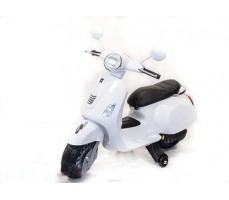 Детский электроскутер TOYLAND Vespa XMX 318 White