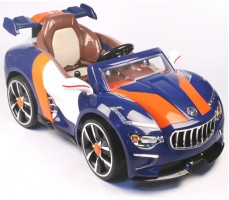 Электромобиль Maserati A 222 AA Leather Blue