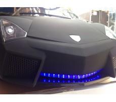 Электромобиль Lambo LS-518 Black вид спереди