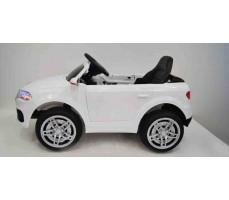 Электромобиль Audi O009OO White вид сбоку