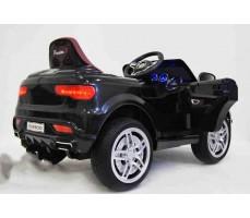 Электромобиль Audi O009OO Black вид сзади(бок)