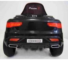 Электромобиль Audi O009OO Black вид сзади