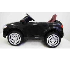 Электромобиль Audi O009OO Black вид сбоку