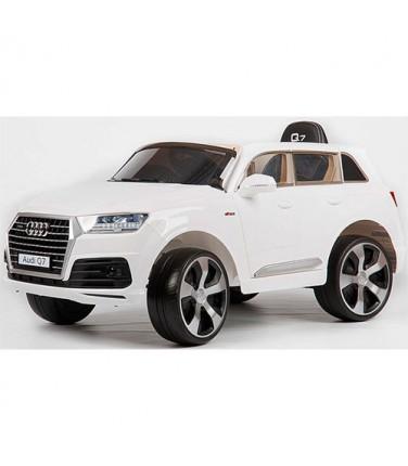 Электромобиль Barty Audi Q7 Quattro LUX White | Купить, цена, отзывы