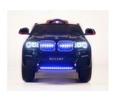 фото электромобиля Barty BMW X5 М555МР Black спереди с подсветкой