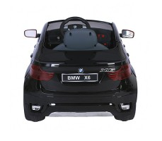 фото электромобиля Barty BMW X6 JJ258 Black сзади