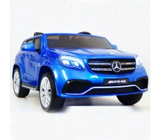 Электромобиль BARTY Mercedes-Benz AMG GLS63 Blue 4х4