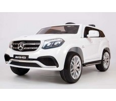 Электромобиль BARTY Mercedes-Benz AMG GLS63 White 4х4