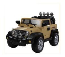 Электромобиль Barty Jeep Wrangler Beige