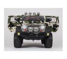 фото электромобиля Barty Jeep Wrangler Khaki спереди