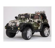 Электромобиль Barty Jeep Wrangler Khaki