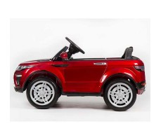 фото электромобиля Barty Land Rover M007MP VIP Red сбоку