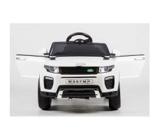 фото электромобиля Barty Land Rover M007MP VIP White спереди