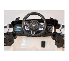 фото руля электромобиля Barty Land Rover M007MP VIP White