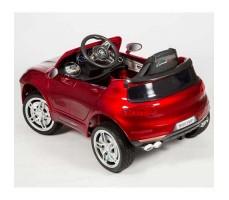 фото электромобиля Barty М003МР Porsche Macan Red сзади