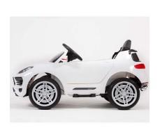фото электромобиля Barty М003МР Porsche Macan White сбоку
