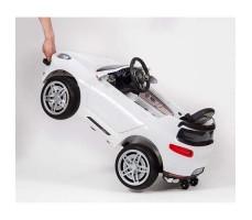 фото ручки-чемодана электромобиля Barty М003МР Porsche Macan White