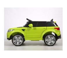 фото электромобиля Barty М999МР Land Rover Green сбоку