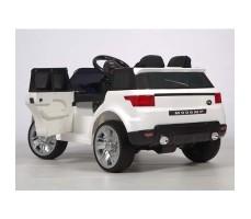 фото электромобиля Barty М999МР Land Rover White сзади