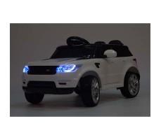 фото электромобиля Barty М999МР Land Rover White в темное время суток