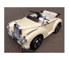 фото электромобиля Barty Mercedes-Benz 300S Beige спереди