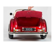 фото багажника электромобиля Barty Mercedes-Benz 300S Red