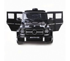 фото электромобиля Barty Mercedes-Benz G63 AMG Black спереди