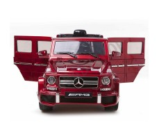 фото электромобиля Barty Mercedes-Benz G63 AMG Red спереди