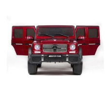 фото электромобиля Barty Mercedes-Benz G65 AMG 12V/10Ah Tuning Red спереди