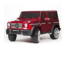 Электромобиль Barty Mercedes-Benz G65 AMG 12V/10Ah Tuning Red