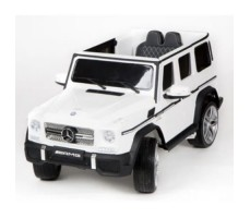 Электромобиль Barty Mercedes-Benz G65 AMG 12V/10Ah Tuning White