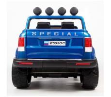 фото электромобиля Barty Р5550С 4*4 Blue сзади