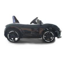 фото электромобиля Barty Porsche Sport М777МР Black сбоку